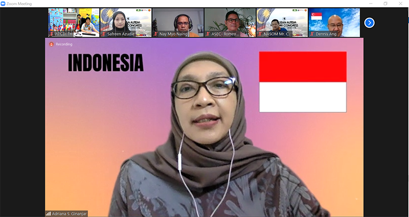 Farewell message by the former AAN chairperson (2018 - 2020), Dr. Adriana Ginanjar from Indonesia.