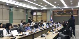 The Thai Network participated in the program overview session for Virtual Meeting with ASEAN Colleagues.