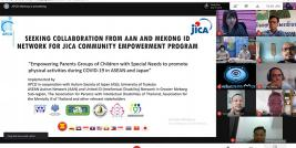 This Project intends to work closely with emerging groups such as ASEAN Autism Network (AAN), United ID (Intellectual Disability) Network in Greater Mekong Sub-region, and other associations for persons with psychosocial disabilities.